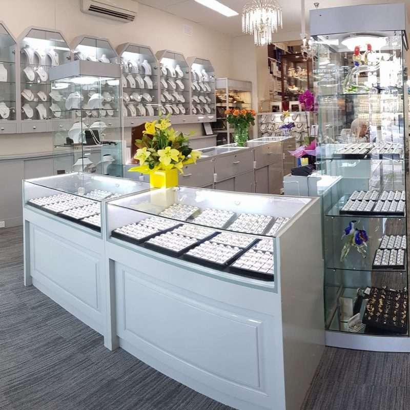 jewellery shop display area 1