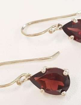Sterling Silver Garnet Earrings
