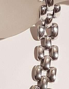 Sterling Silver Heavy Unusual Bracelet