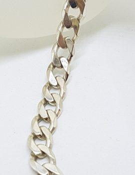 Sterling Silver Curb Link Bracelet