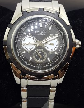 Pierre Cardin Watch - Black and Stainless Steel