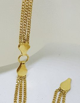 18ct Yellow Gold Chain Link Bracelet