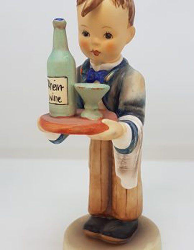 Vintage German Hummel Figurine - Waiter