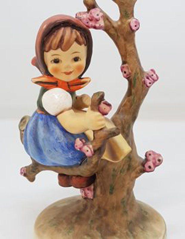 Vintage German Hummel Figurine - Apple Tree Girl