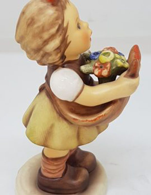 Vintage German Hummel Figurine - Valentine Loving Wishes