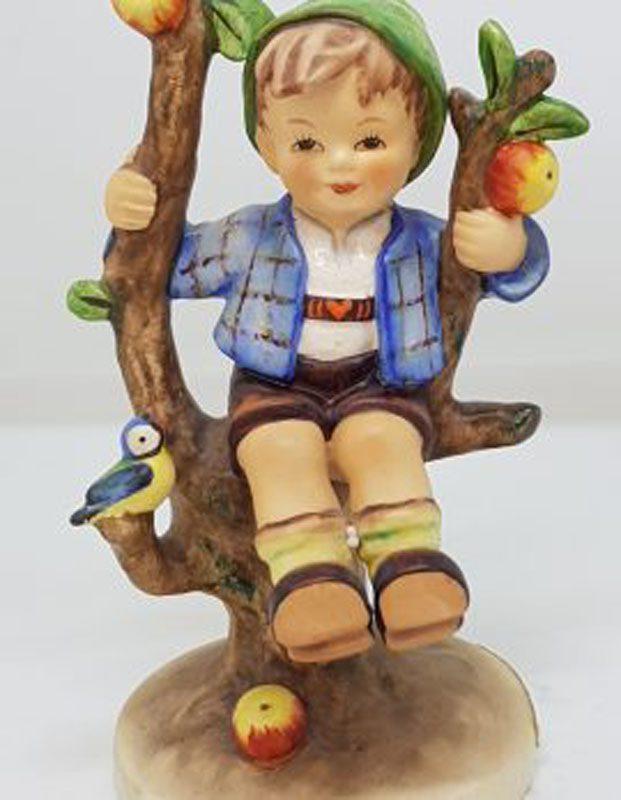 Vintage German Hummel Figurine - Apple Tree Boy