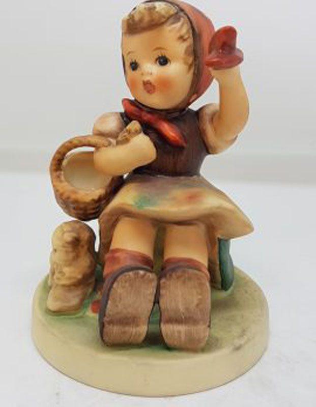 Vintage German Hummel Figurine - Farewell