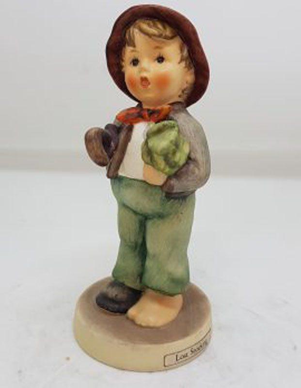 Vintage German Hummel Figurine - Lost Stocking