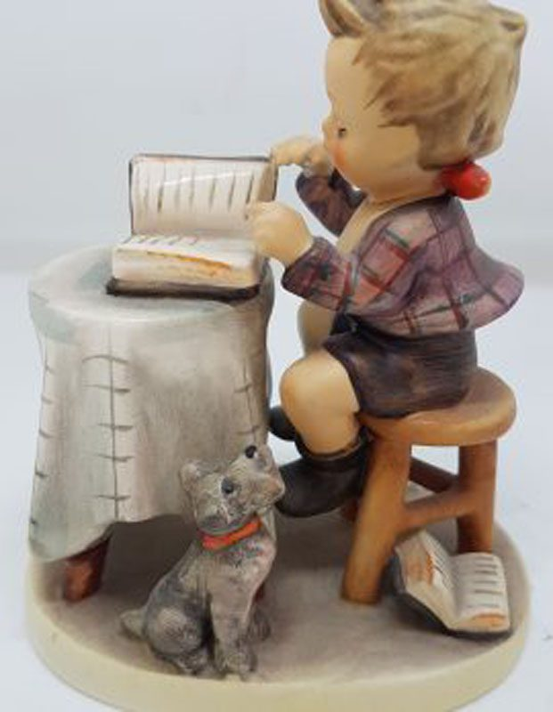 Vintage German Hummel Figurine - Little Book